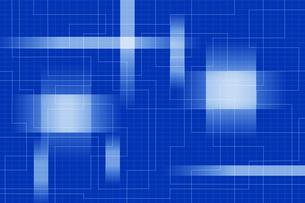 格子模様と重なる光の模様 CGのイラスト素材 [FYI04873319]