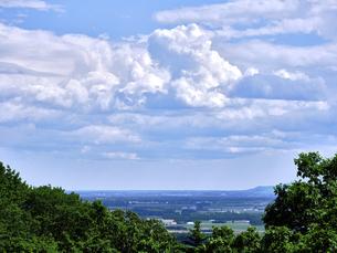 青空と雲の写真素材 [FYI04873510]