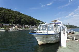 沖島の連絡船の写真素材 [FYI04874033]