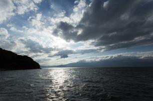 沖島からの琵琶湖の写真素材 [FYI04874042]