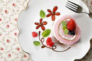 ロールケーキの写真素材 [FYI04874338]
