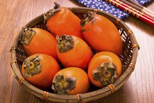 筆柿の写真素材 [FYI04874357]