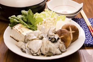 牡蠣鍋の写真素材 [FYI04874368]