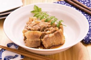 煮豚の写真素材 [FYI04874377]