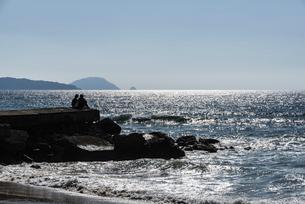 玄界灘の砂浜の写真素材 [FYI04874553]