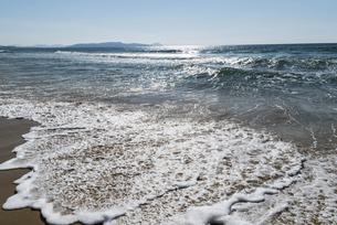 玄界灘の砂浜の写真素材 [FYI04874555]