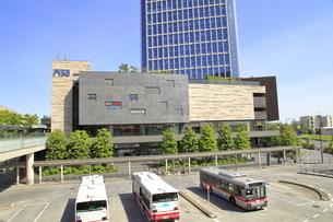 二子玉川駅の高層ビルの写真素材 [FYI04874574]