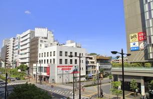 二子玉川駅前交差点の写真素材 [FYI04874591]