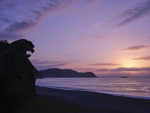 熊野の獅子岩の写真素材 [FYI04874933]