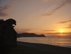 熊野の獅子岩の写真素材 [FYI04874934]