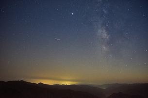 大台ケ原からの星空の写真素材 [FYI04874943]