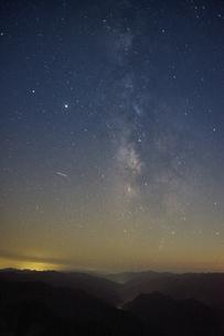 大台ケ原からの星空の写真素材 [FYI04874944]