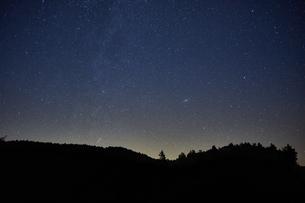 大台ケ原からの星空の写真素材 [FYI04874945]