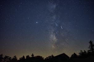 大台ケ原からの星空の写真素材 [FYI04874946]