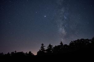 大台ケ原からの星空の写真素材 [FYI04874947]