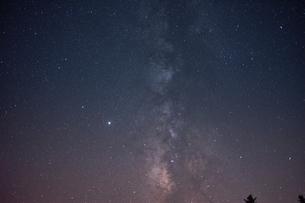 大台ケ原からの星空の写真素材 [FYI04874948]