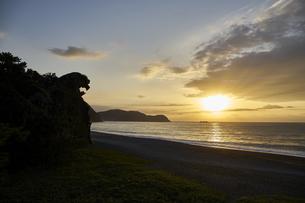 熊野の獅子岩の写真素材 [FYI04874953]