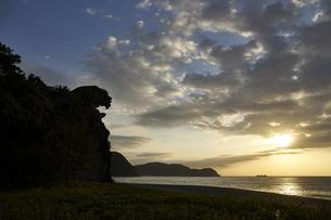 熊野の獅子岩の写真素材 [FYI04874959]