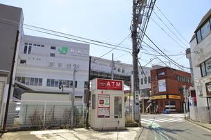 菊名駅西口 東横線の写真素材 [FYI04875052]