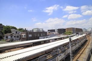菊名駅西口 東横線の写真素材 [FYI04875053]
