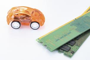 【EV】自動車と半導体 テクノロジーの写真素材 [FYI04875371]