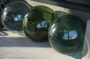ガラスの浮き球の写真素材 [FYI04876451]