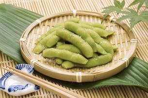 茹で枝豆の写真素材 [FYI04876590]
