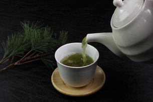 緑茶の写真素材 [FYI04877447]