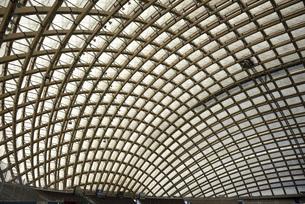大館 樹海ドームの天井の写真素材 [FYI04877729]