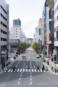 仙台市の街並み 南町通の写真素材 [FYI04877764]