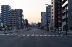 仙台市の街並みの写真素材 [FYI04877772]