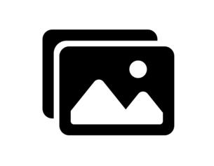 写真画像のアイコンセットのイラスト素材 [FYI04877884]
