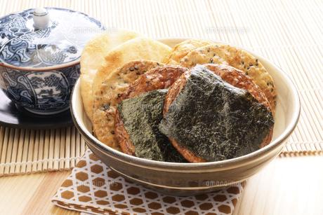 米菓煎餅の写真素材 [FYI04878110]