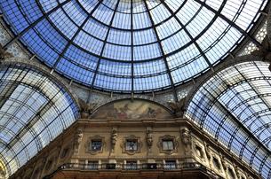 ミラノ ガッレリアのガラス天井の写真素材 [FYI04878325]