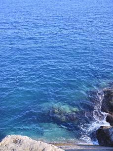 鬼ヶ城から望む海の写真素材 [FYI04880176]