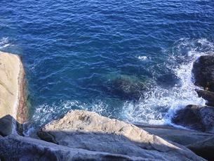 鬼ヶ城から望む海の写真素材 [FYI04880178]