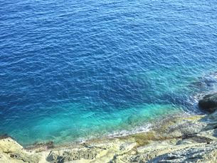 鬼ヶ城から望む海の写真素材 [FYI04880179]