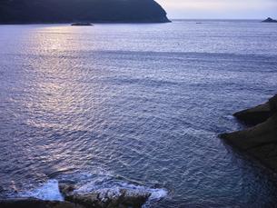 鬼ヶ城から望む海の写真素材 [FYI04880184]