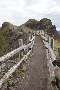 神威岬の風景 神威岬遊歩道の写真素材 [FYI04880269]
