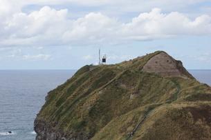 神威岬の風景 神威岬灯台の写真素材 [FYI04880283]