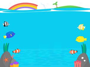 Under the Seaのイラスト素材 [FYI04880304]
