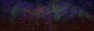 宇宙パノラマCGのイラスト素材 [FYI04880420]