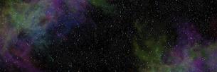 宇宙パノラマCGのイラスト素材 [FYI04880424]