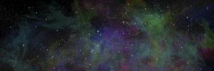 宇宙パノラマCGのイラスト素材 [FYI04880425]