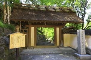 和歌山城 西ノ丸庭園(紅葉渓庭園)入口の写真素材 [FYI04880428]