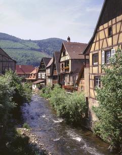 カイゼルベルクの家々の写真素材 [FYI04880573]