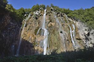 プリトヴィッツェ滝の写真素材 [FYI04880973]