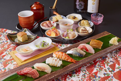 寿司コースの写真素材 [FYI04881326]