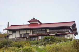 小樽祝津の風景 旧ニシン御殿の写真素材 [FYI04882227]