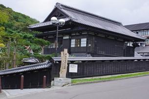 小樽祝津の風景 旧ニシン御殿の写真素材 [FYI04882232]